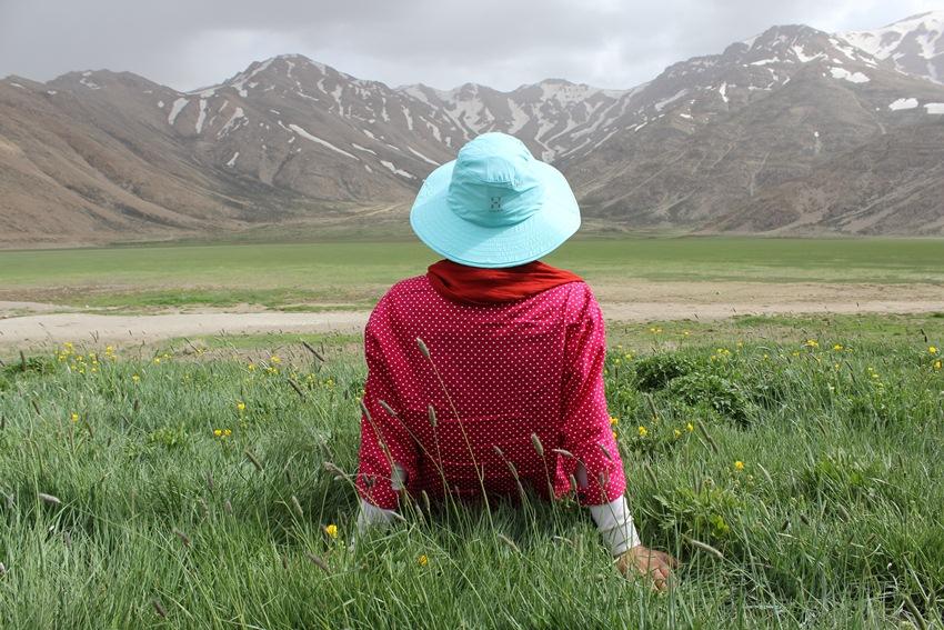 Расслабляющий пейзаж гор