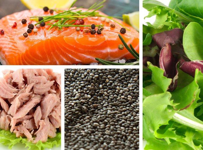 Продукты источники омега-3 жирных кислот