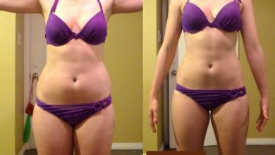 Результаты похудения на гречневой диете