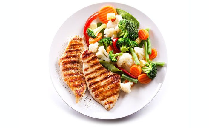 Прием пищи для увеличения массы